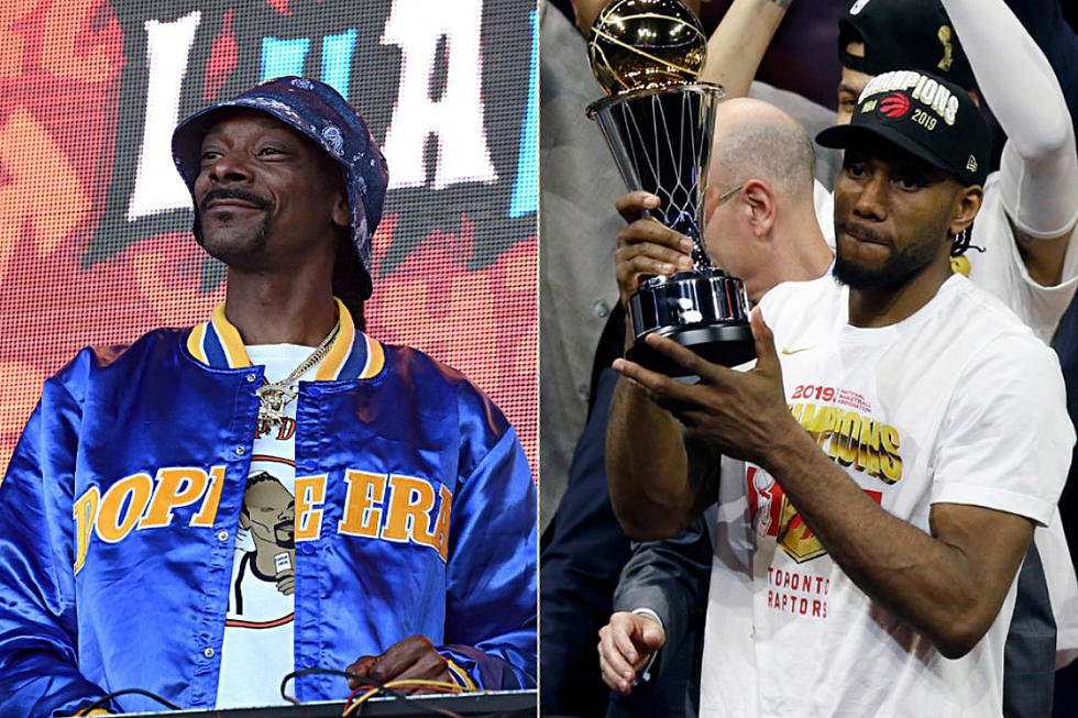 buy online 3946b 45db9 Snoop Dogg Makes Hilarious Pitch to Recruit Kawhi Leonard - XXL