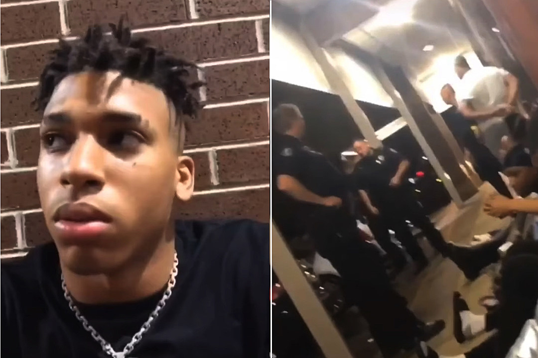 NLE Choppa Seemingly Gets Searched by Police on Video , XXL