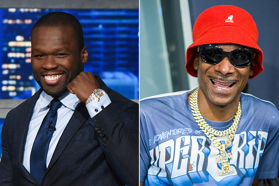 50 Cent Says Snoop Got Him to Smoke: