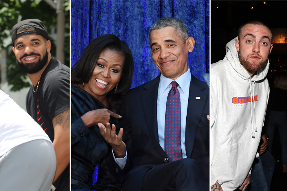 Drake Mac Miller More Included On Barack And Michelle