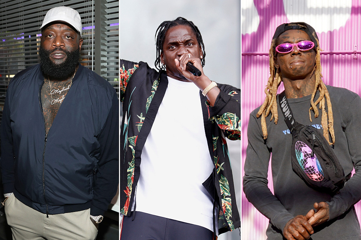"""Pusha-T's Unreleased Verse On Ross' """"Maybach Music VI"""" Surfaces - XXL"""