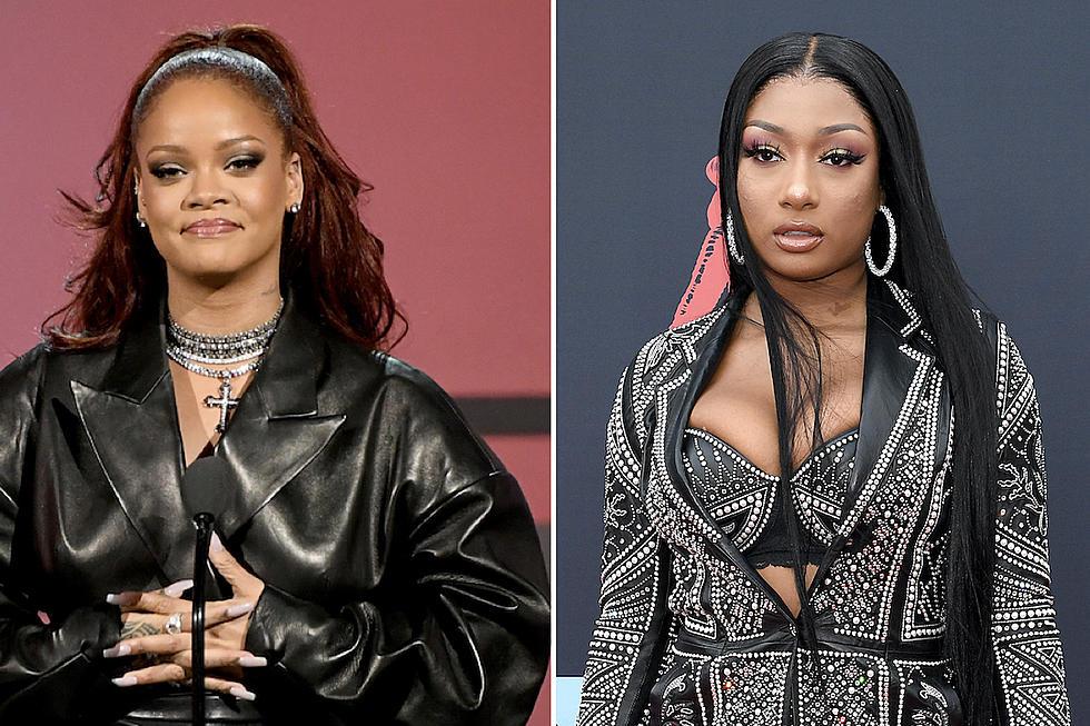 Rihanna Shuts Down Rumors of Megan Thee Stallion