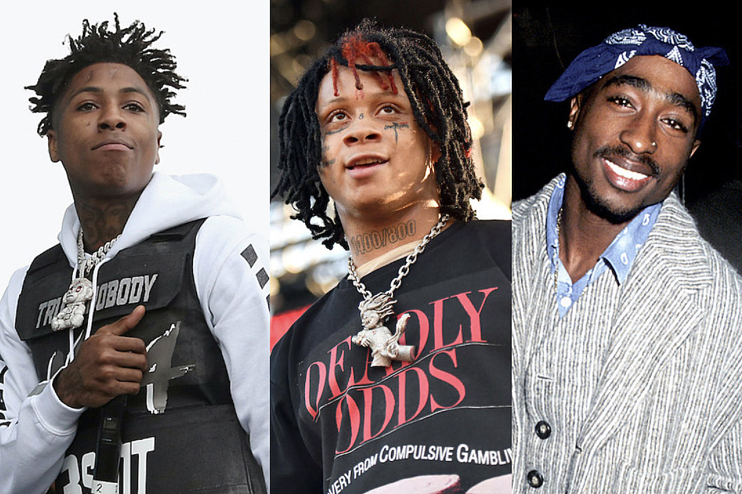 Trippie Redd Thinks YoungBoy Never Broke Again Is Tupac