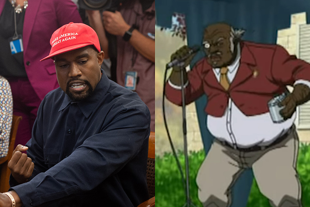 Someone Replaces Photo Of The Boondocks Uncle Ruckus With Kanye Xxl