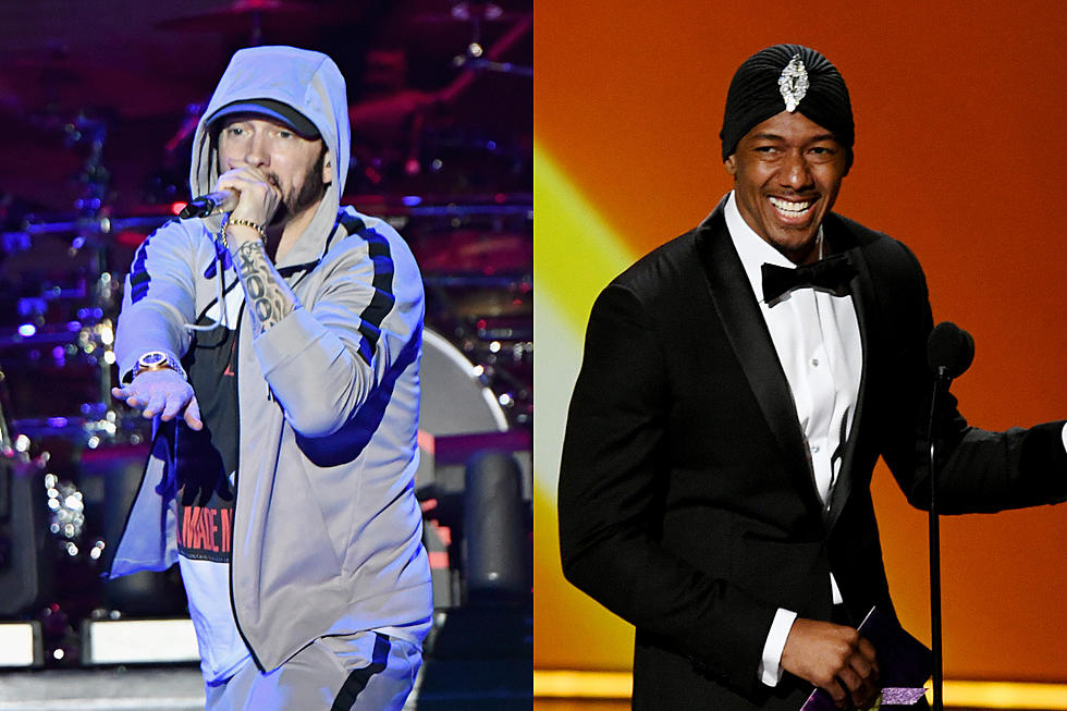 Eminem Responds To Nick Cannon S Diss Calls Him A Bougie F K Xxl