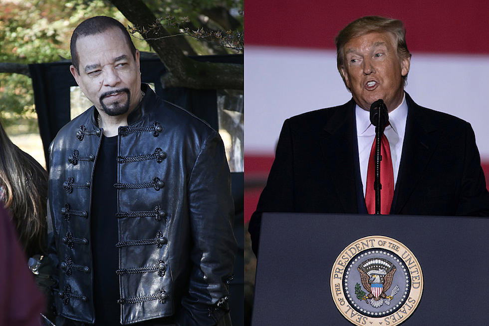 Ice T Posts Quote With Pro Trump Conspiracy Meme Faces