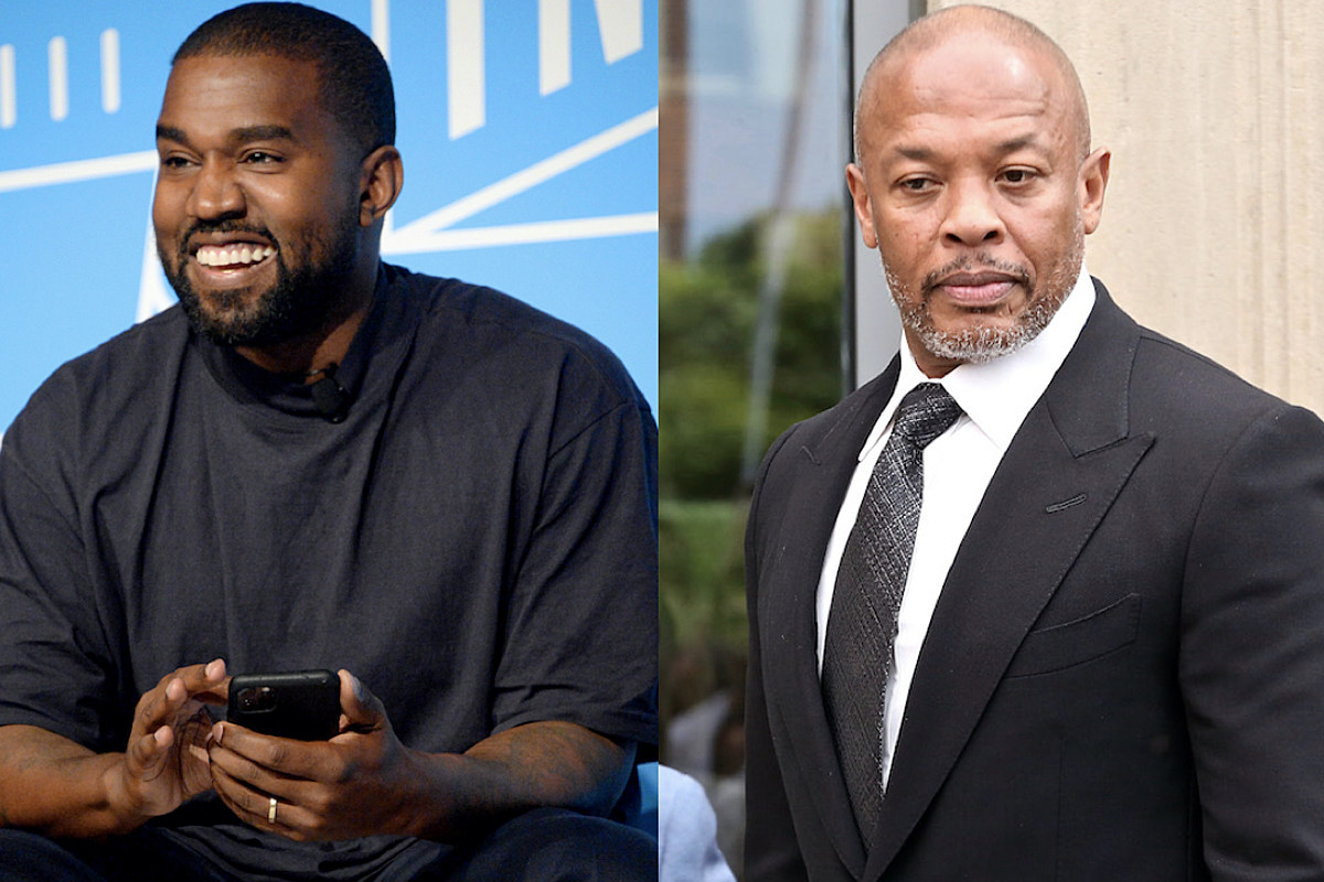 Kanye Explains What It Took to Get Dr  Dre to Mix His Beats