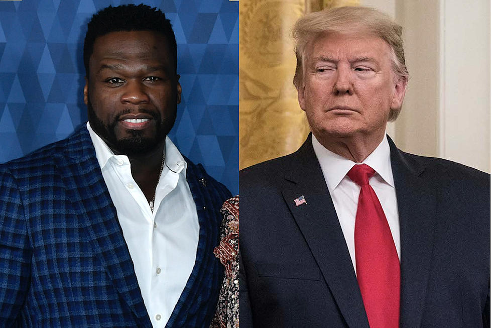 Reporter Quotes 50 Cent to Describe President Trump, Fif Responds ...