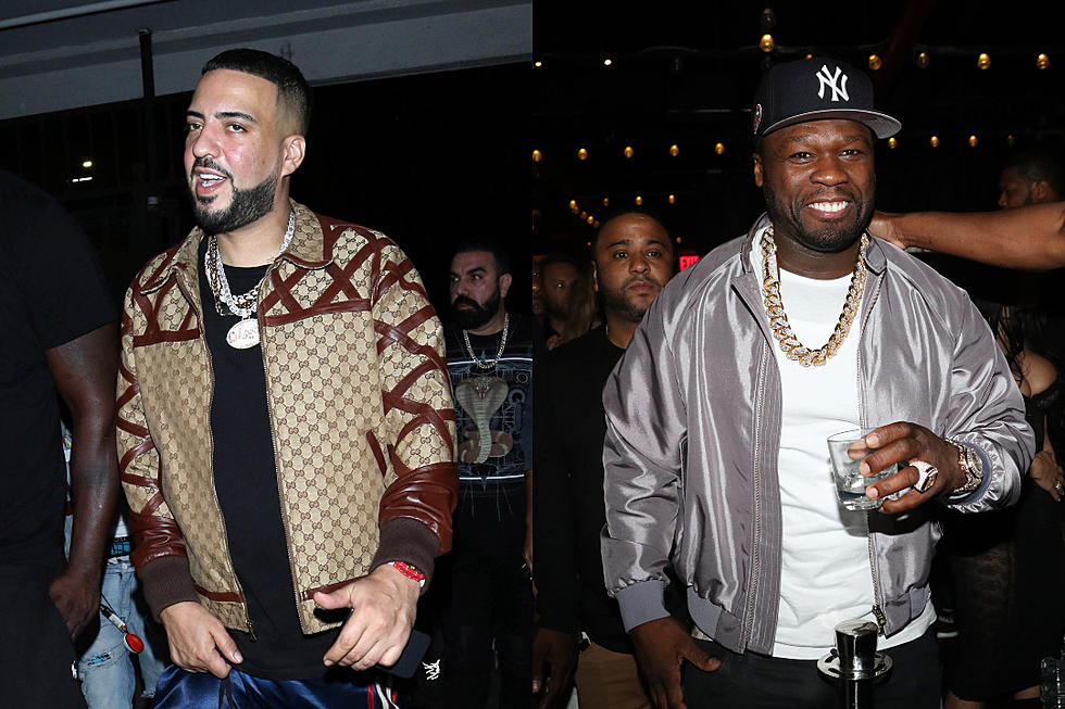 Image result for French Montana takes his beef with 50 Cent to another level as he puts out receipts claiming 50 Cent prefers transwomen with male members