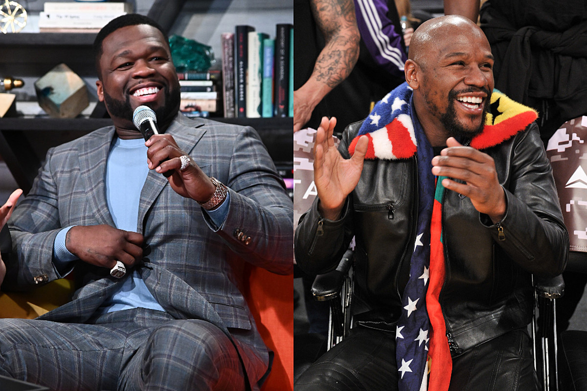50 Cent Says Floyd Mayweather Has to Fight Because His Money Is Running Low - XXLMAG.COM