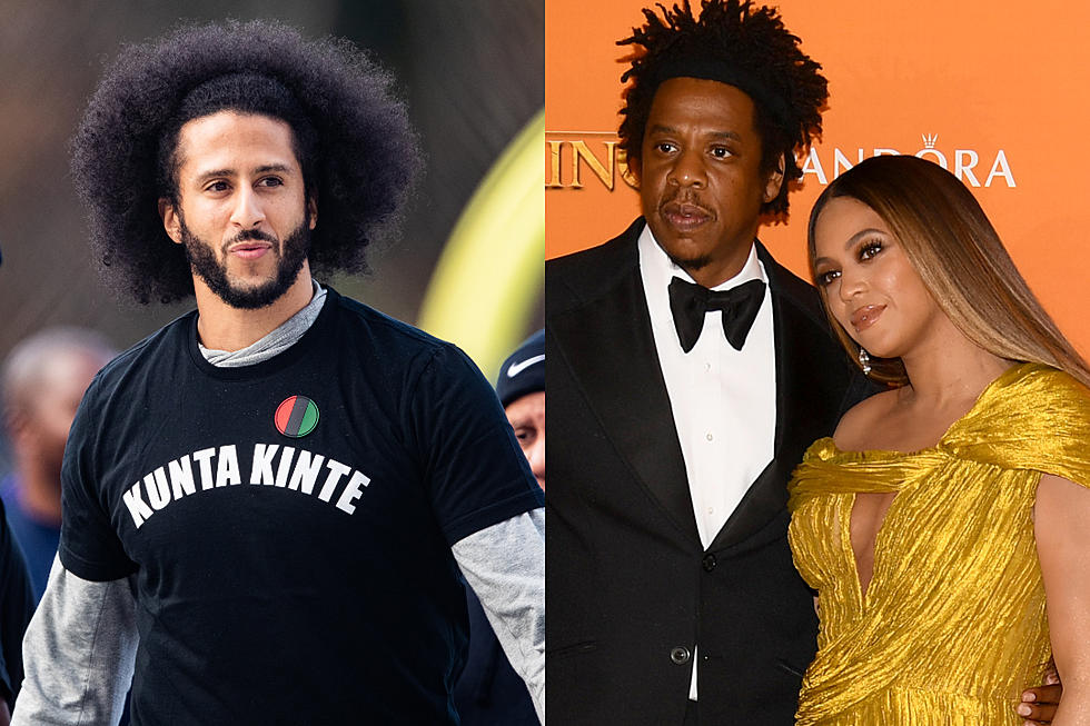 Kaepernick Isn T Sure Why Jay Z Didn T Stand For National Anthem Xxl