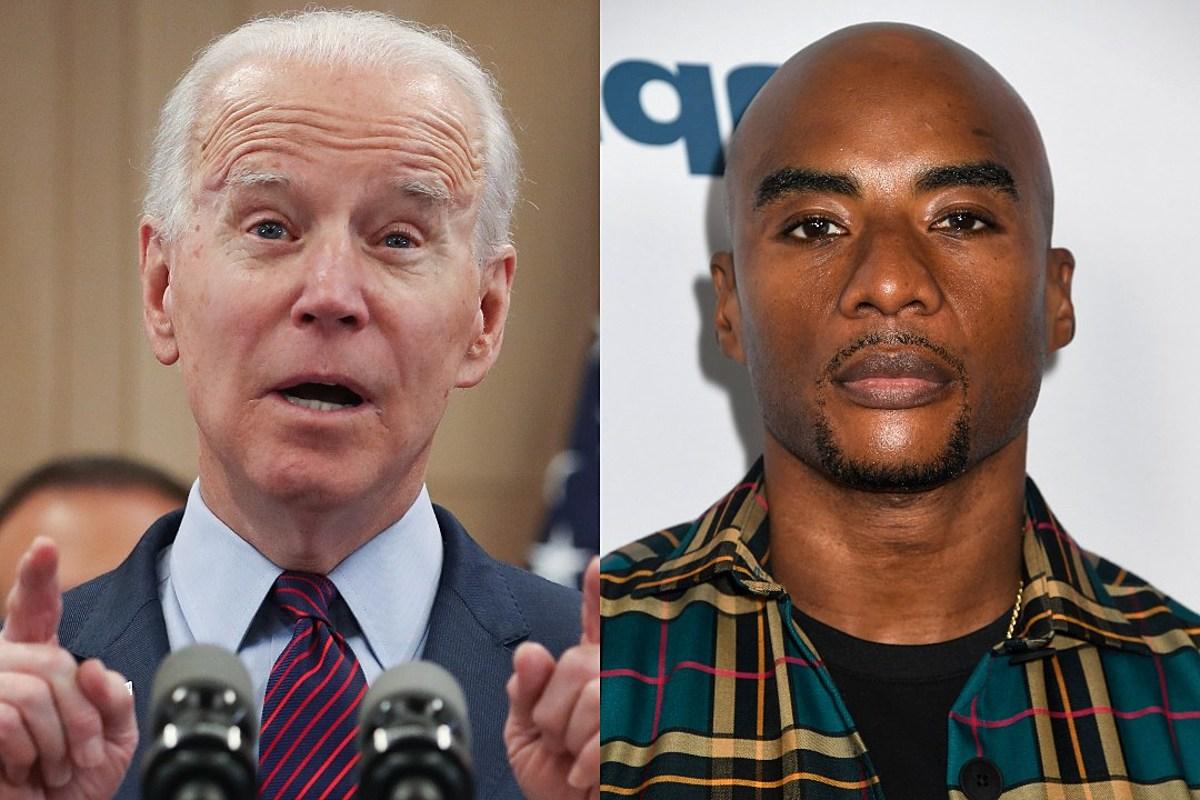 Joe Biden Charlamagne Tha God Talk Black People Voting For Trump