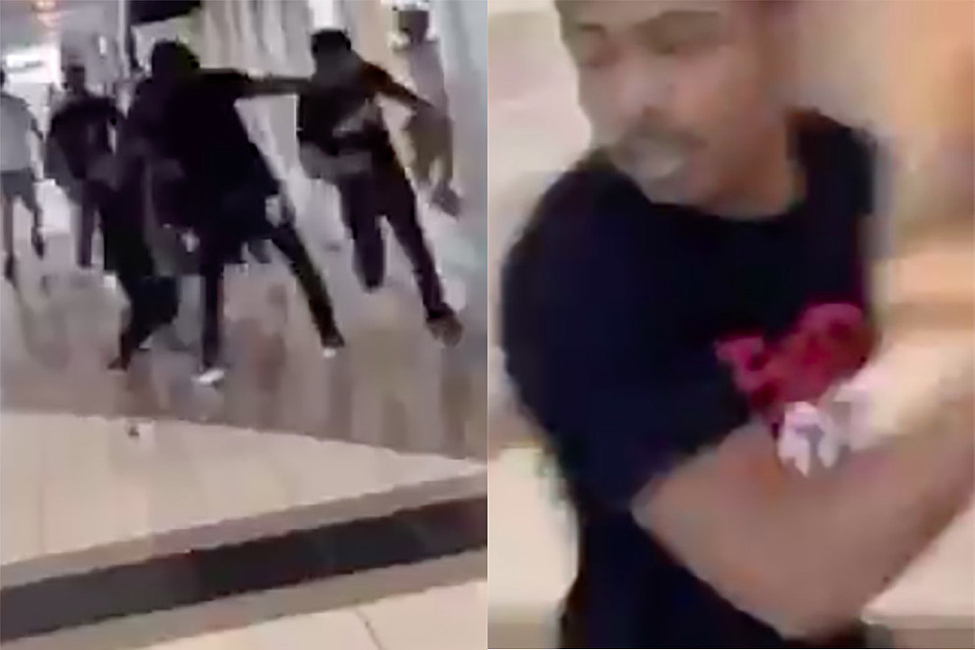 Teejayx6 Appears to be Chased in a Mall