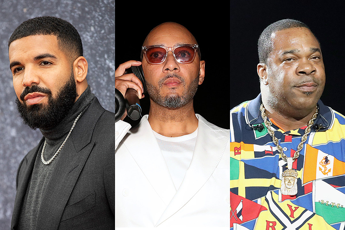 Swizz Beatz Calls Drake a P!*&y Boy for Not Allowing Song With Busta Rhymes to Be Released