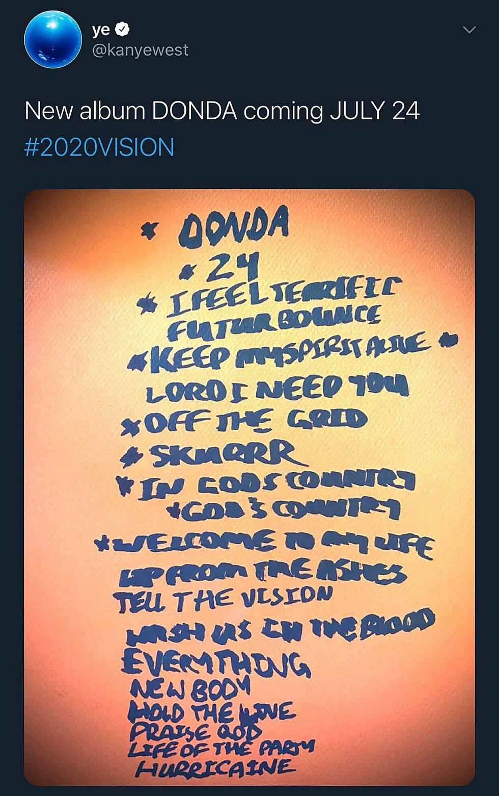 Where Is Kanye West S New Donda Album Xxl