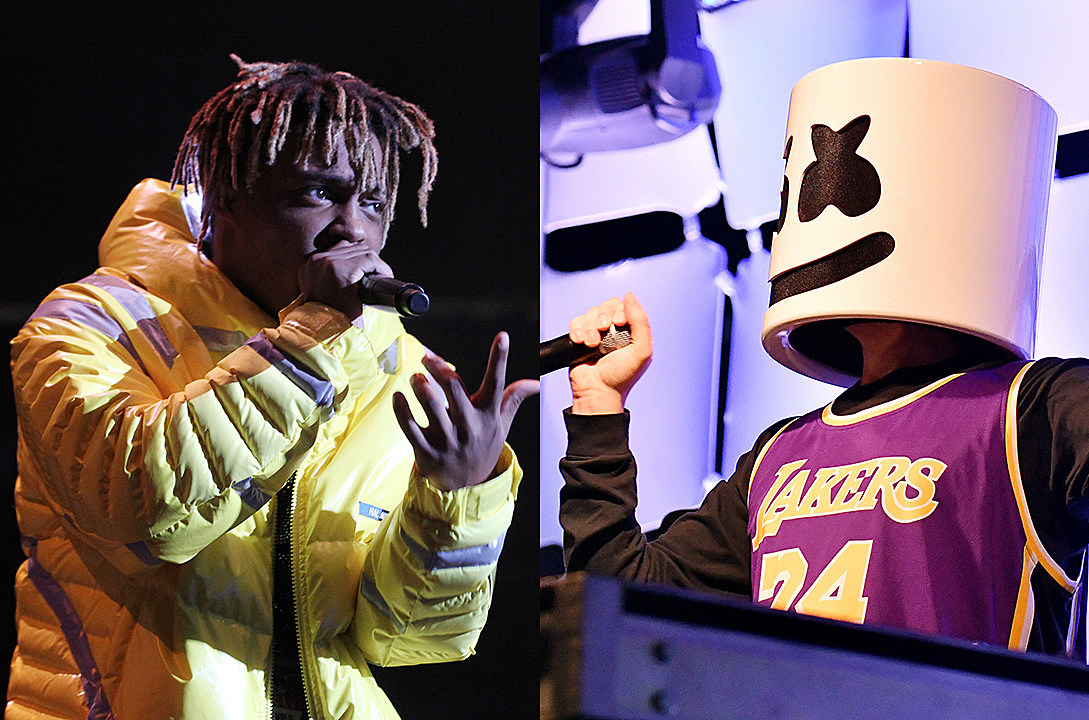 "Hear Juice Wrld's New Song With Marshmello ""Come & Go"""