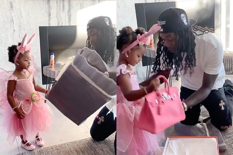 Offset Buys 2-Year-Old Kulture a Birkin Bag, People Have Thoughts ...