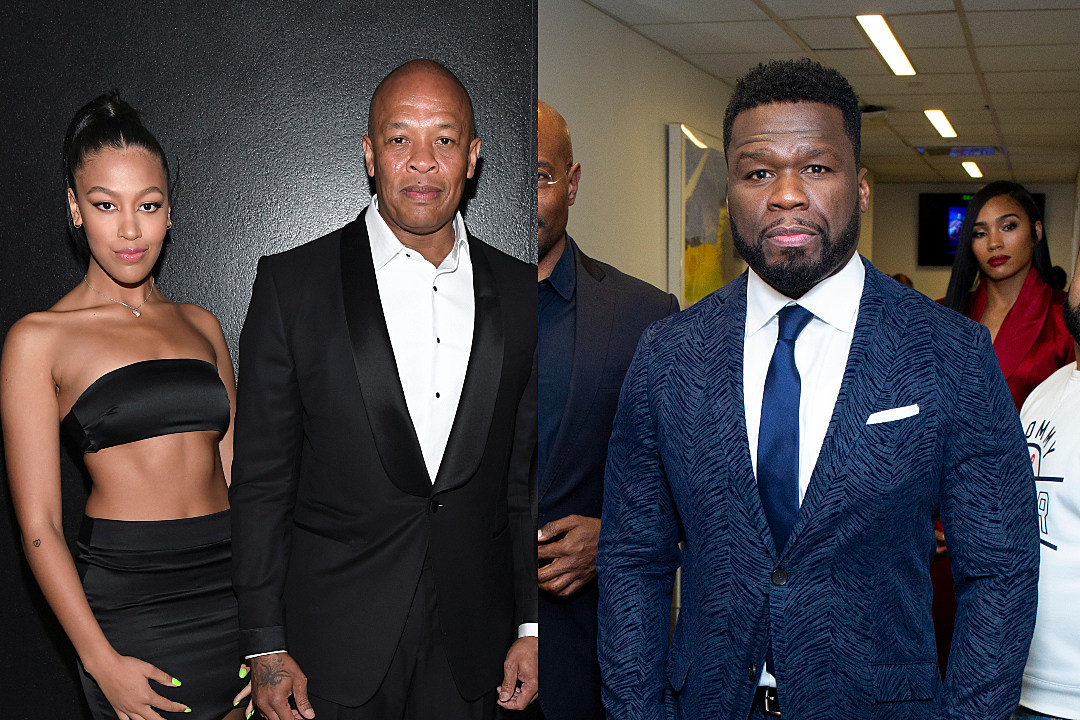 Dr. Dre's Daughter Blasts 50 Cent for Comments About Her Mother