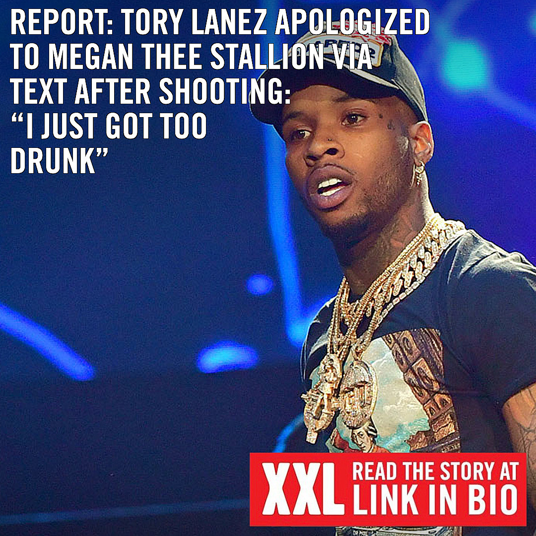 Leaked Texts Show Tory Lanez Apologized To Megan Thee Stallion Xxl