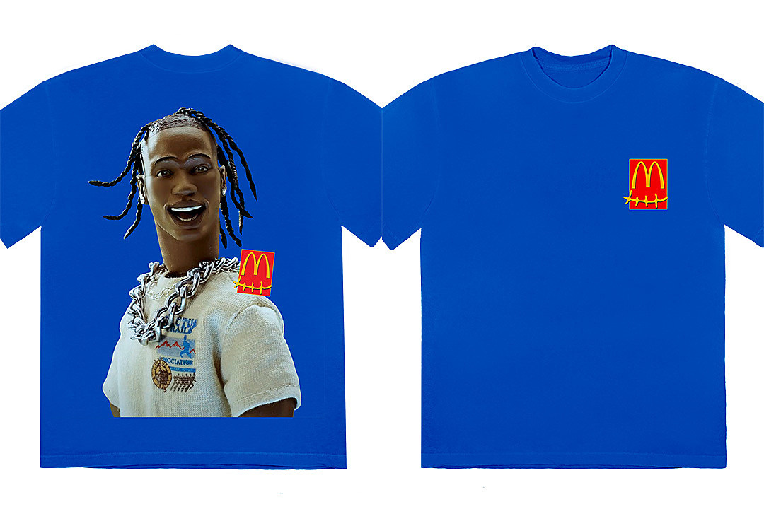 Travis Scott Drops 37 New McDonald's Merch Items - XXL