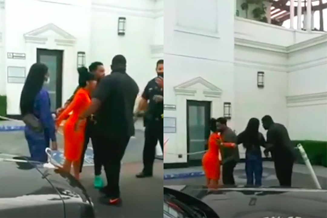 Cardi B Screams as Offset Is Detained By Police