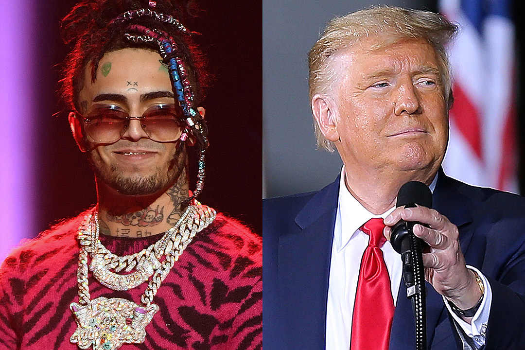 Lil Pump Says He Is Voting for President Trump