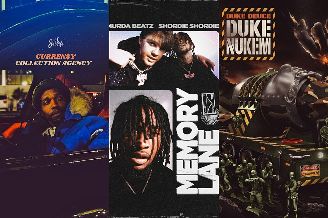 Shordie Shordie and Murda Beatz, Currensy and More - New Projects