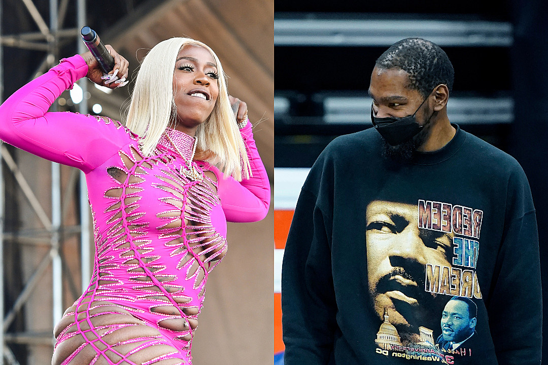 Kash Doll and NBA Star Kevin Durant Argue Over KD Moniker