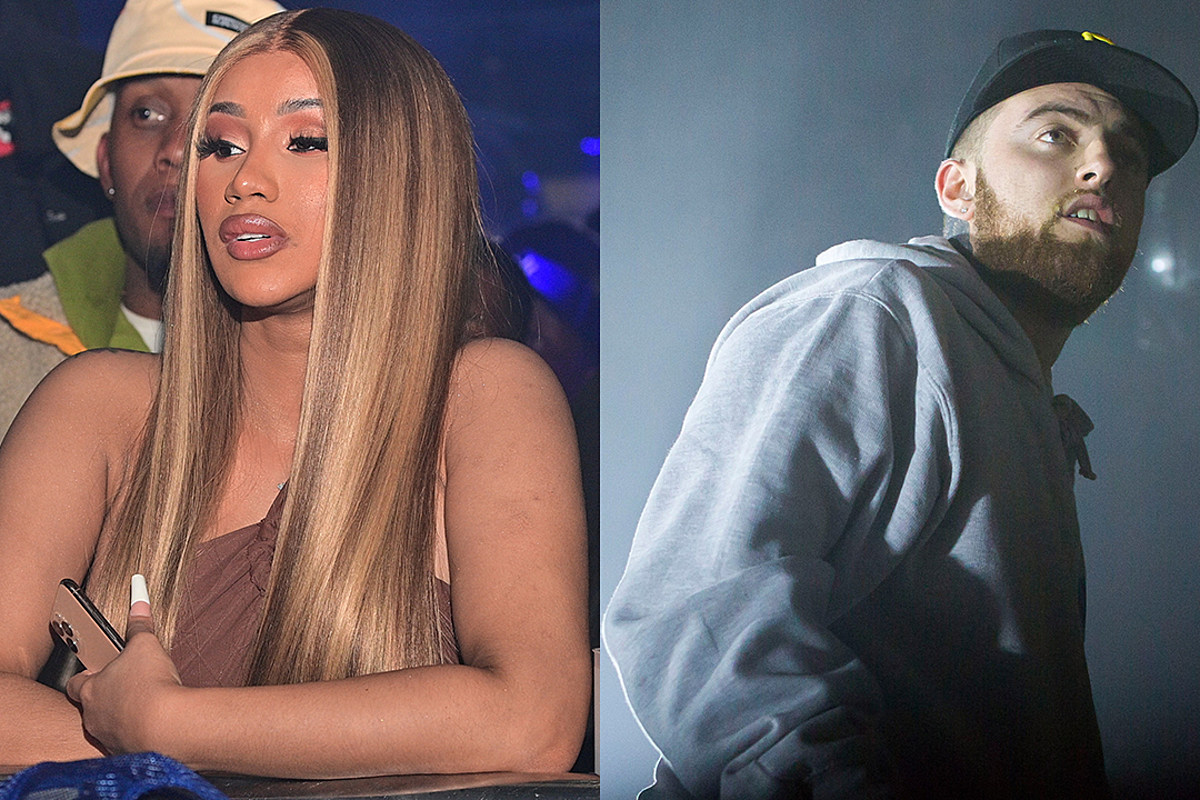 Cardi B Calls Out People on Social Media for Bullying Mac Miller