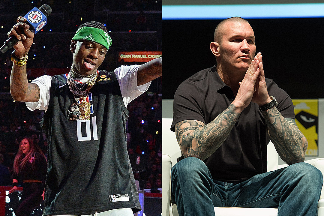 Soulja Boy and Wrestler Randy Orton Beef Erupt