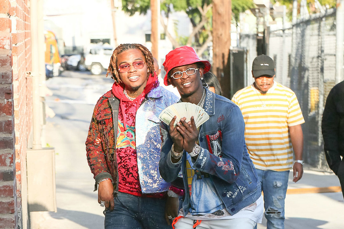 Young Thug and Gunna Post Bail for 30 Low Level Offenders