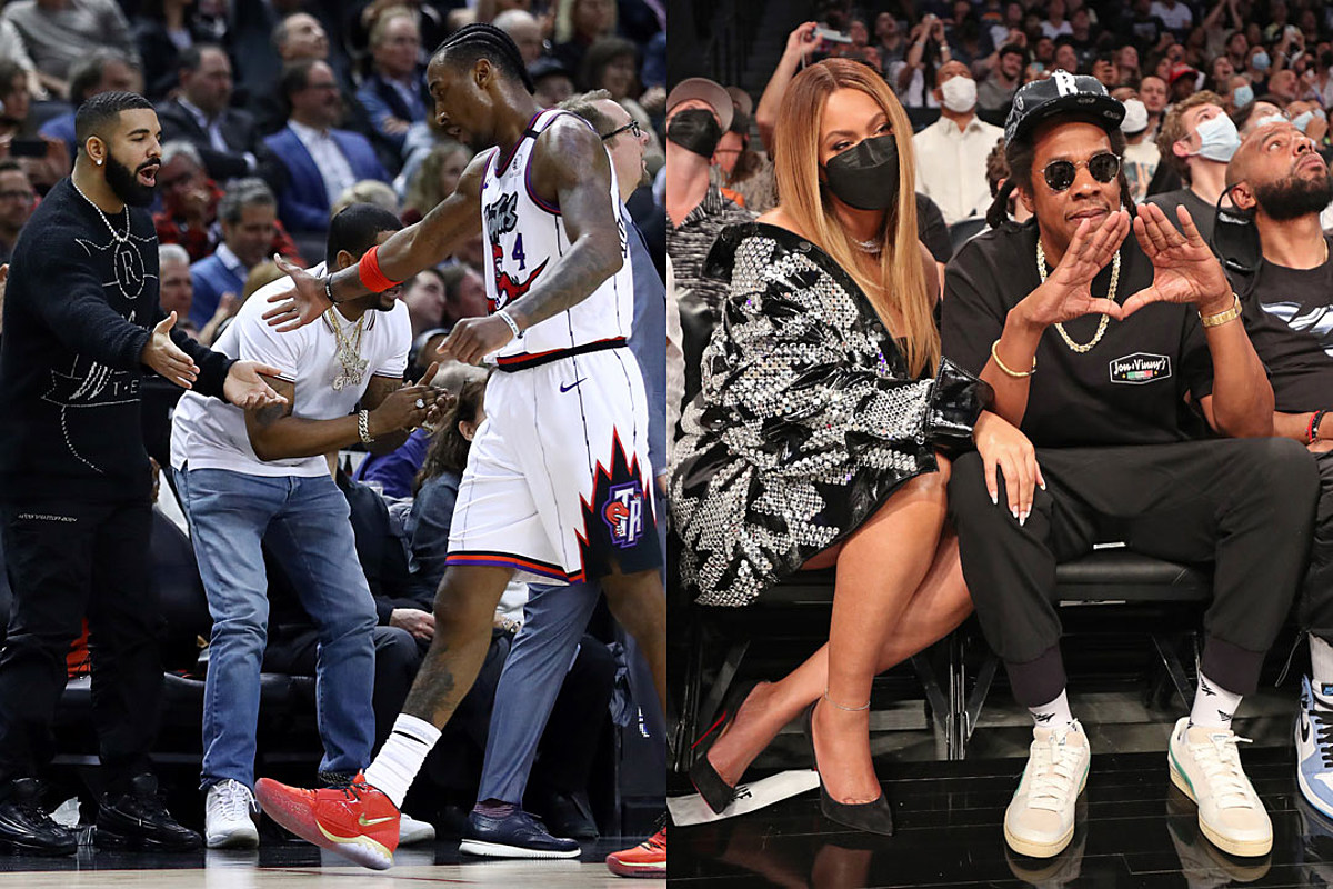 Rappers' Courtside Connections to NBA Teams