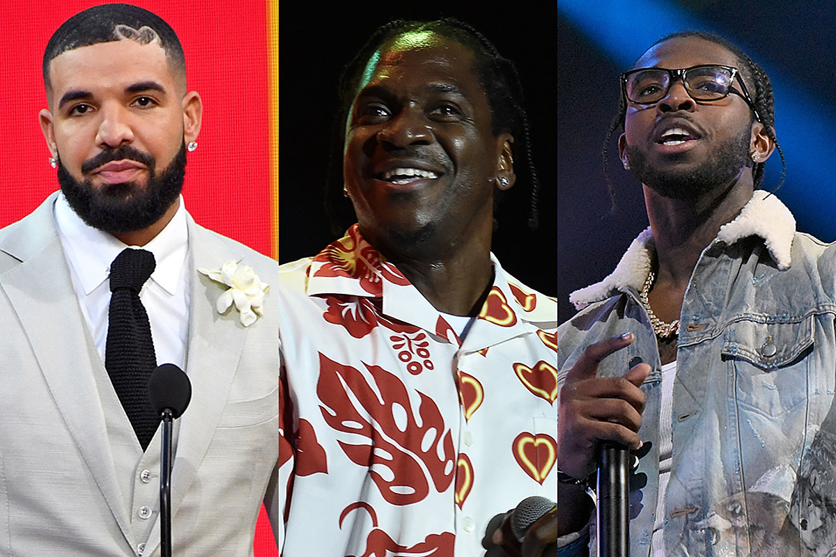 People Say Pusha T Is Dissing Drake on New Pop Smoke Song