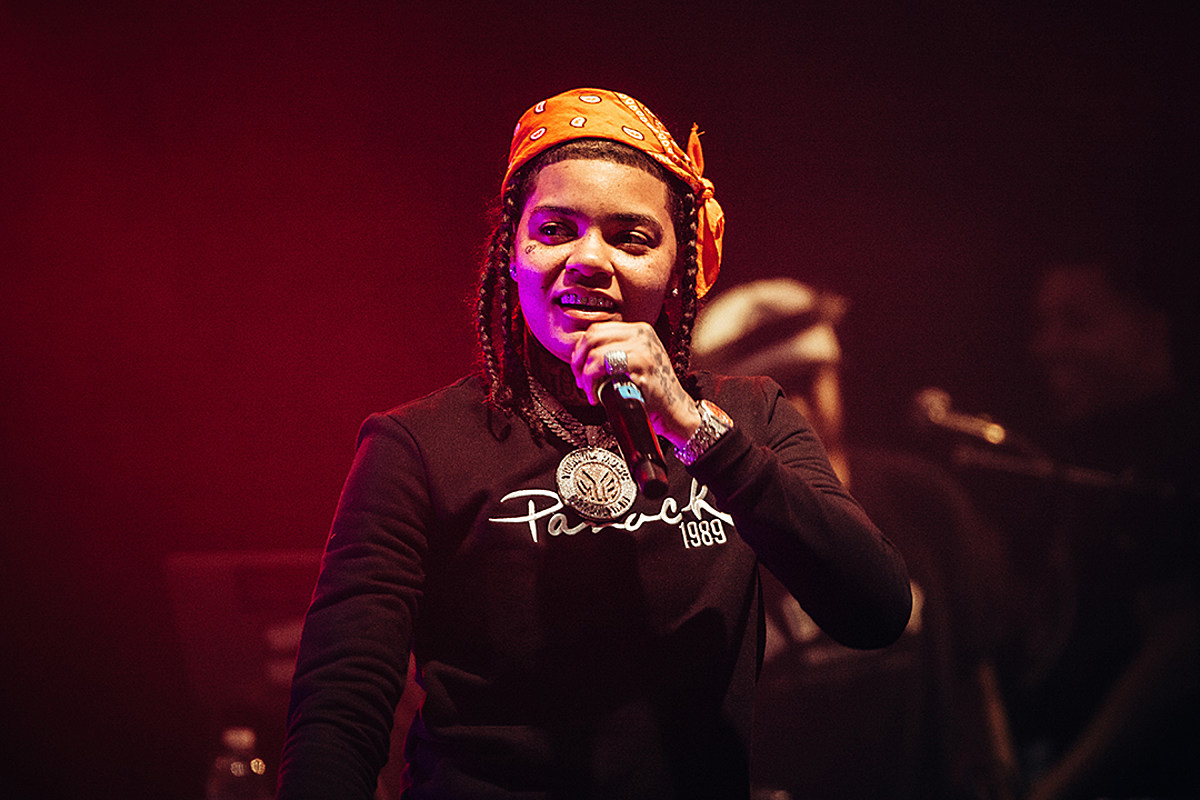 Young M.A Responds to People Saying She's Pregnant