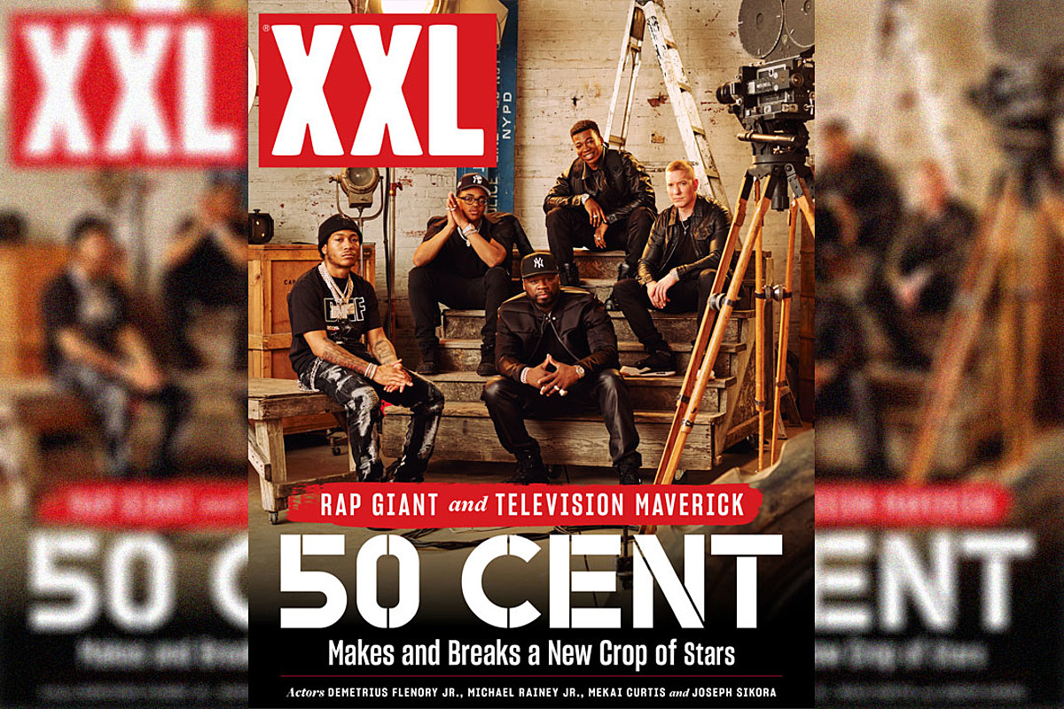 50 Cent and His New Crop of Acting Stars on XXL Digital Cover