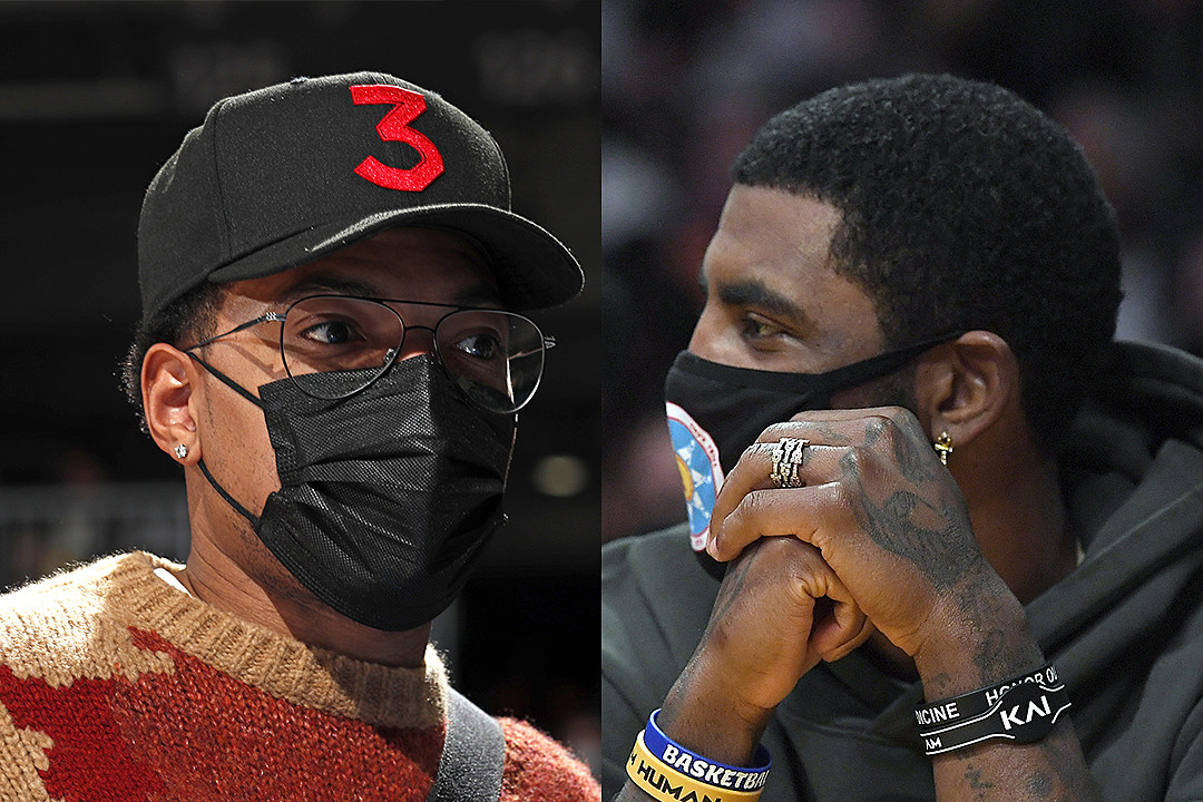 Chance The Rapper Agrees With Kyrie Irving's Anti-Vaccine Stance