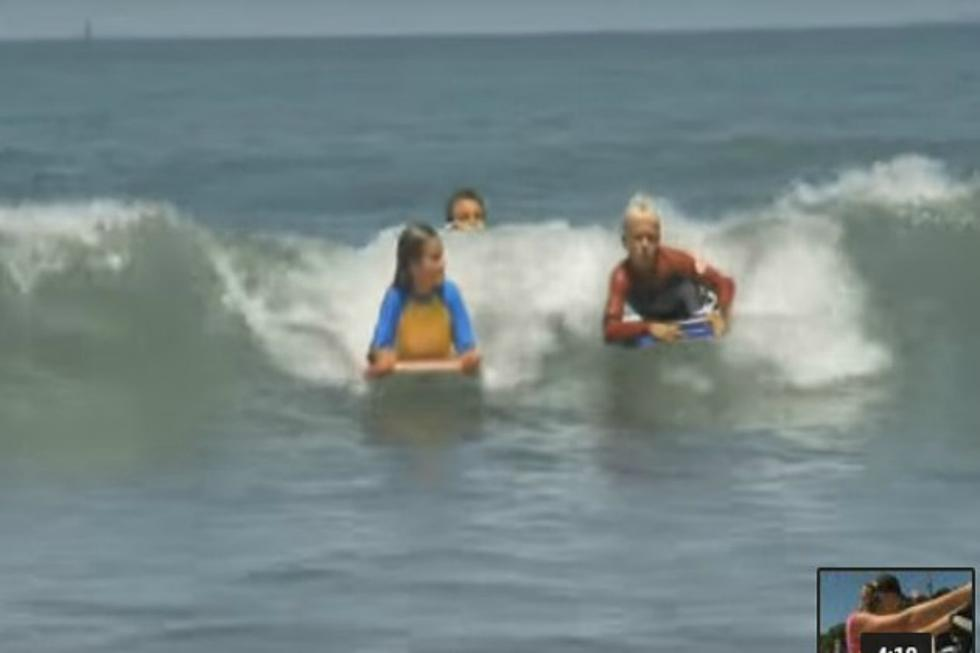 Fun At The Beach Teach Your Kids How To Boogie Board With This Video Watch