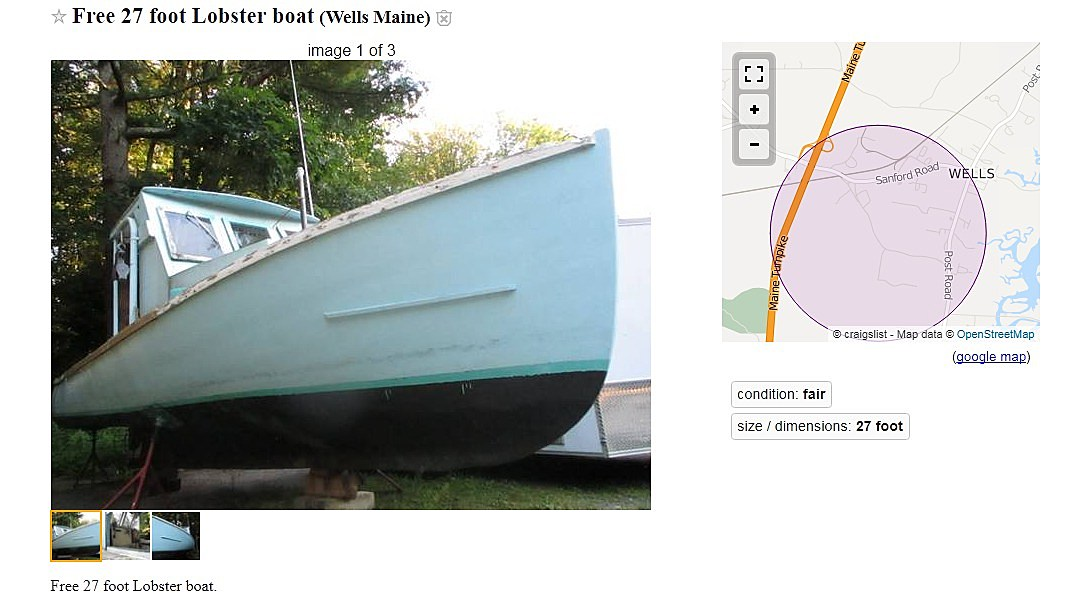 35d6b80a576 Check out What is FOR FREE Right Now on Maine Craigslist!  LISTINGS