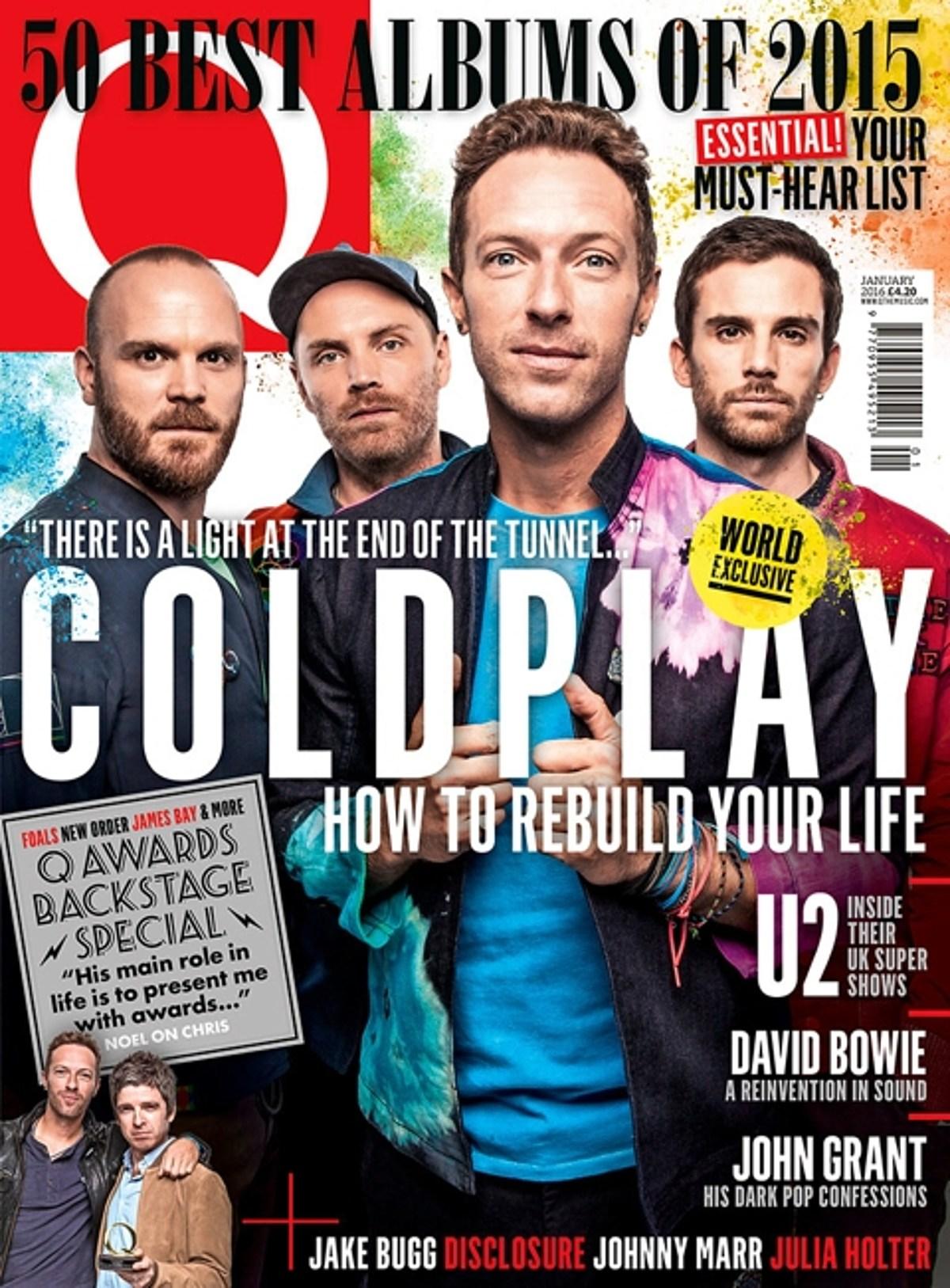 Q Magazine's Top 50 Albums of 2015
