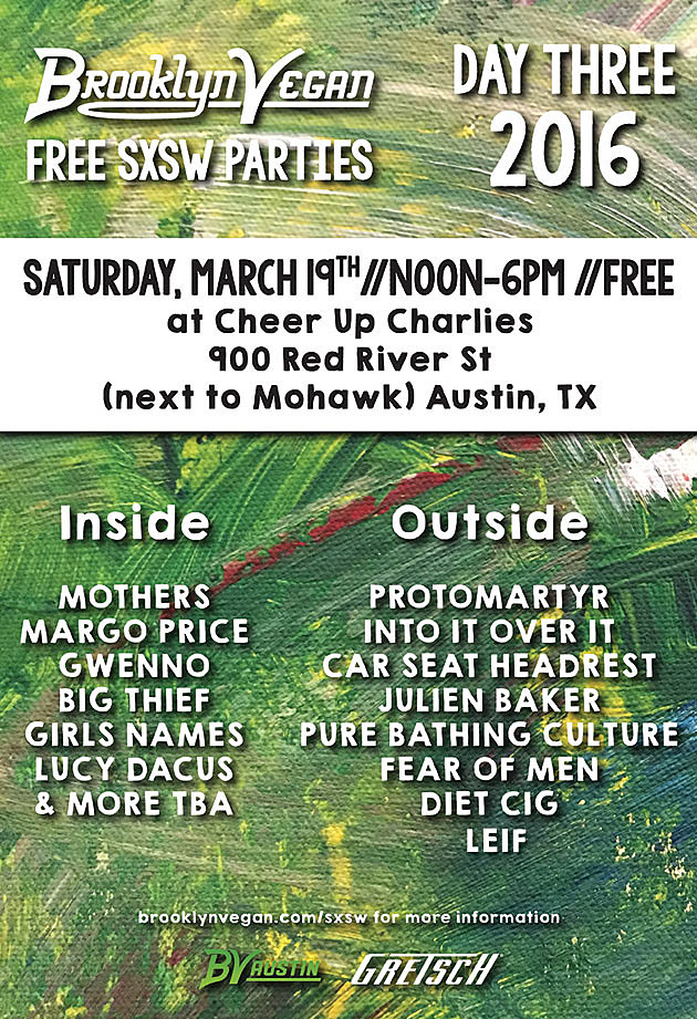 BVSXSW Saturday Flyer