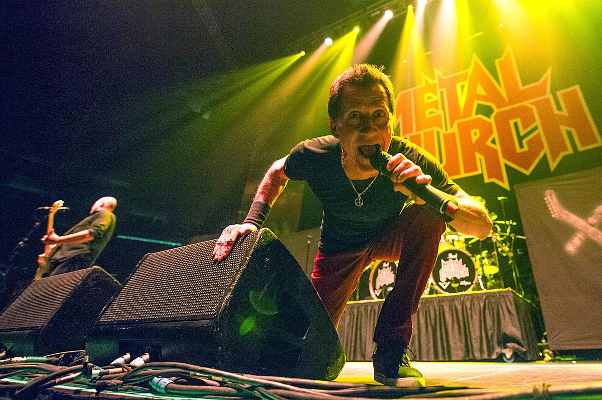 Metal Church vocalist Mike Howe, RIP