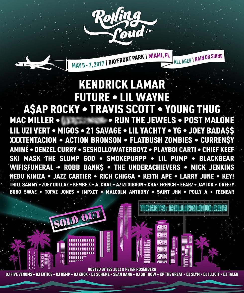 Rolling Loud Is This Weekend Set Times Lineup Updates