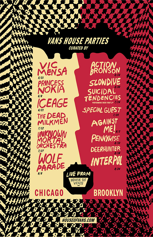 House of Vans 2018 BK & Chicago 2018 summer concerts (Interpol ...