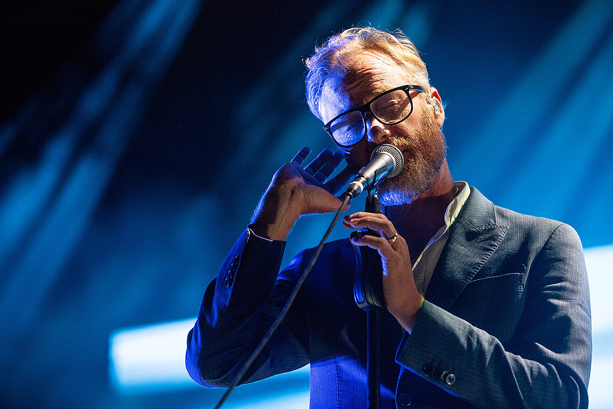 Listen to The National's Matt Berninger cover Tom Petty with the Resynator synth