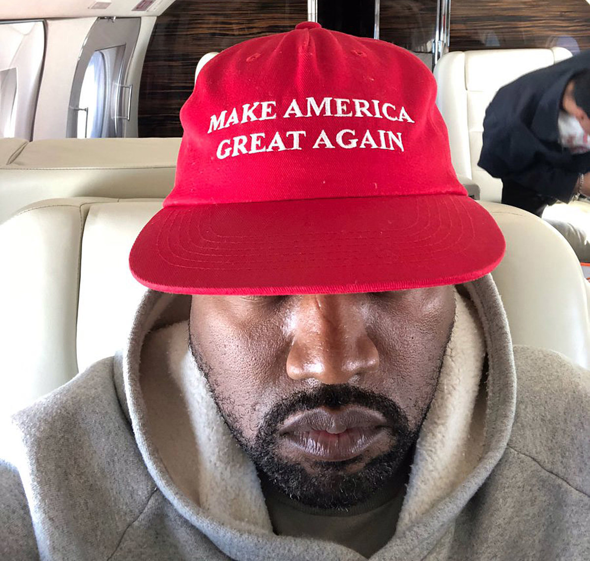 Kanye's being helped by Republicans in presidential run; Trump denies involvement