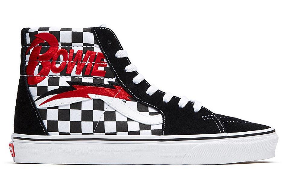 Vans launches David Bowie sneaker
