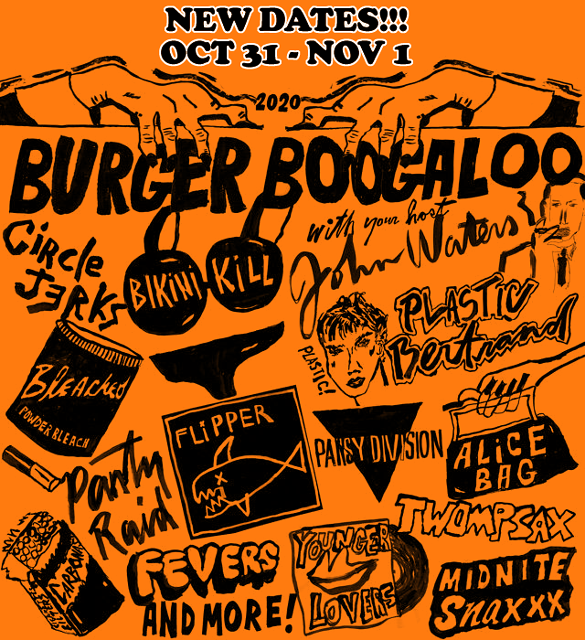 Halloween Nyc Nov 2 2020 Burger Boogaloo 2020 moving to Halloween Weekend