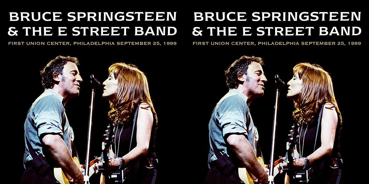 Bruce Springsteen shares 1999 Philadelphia live album