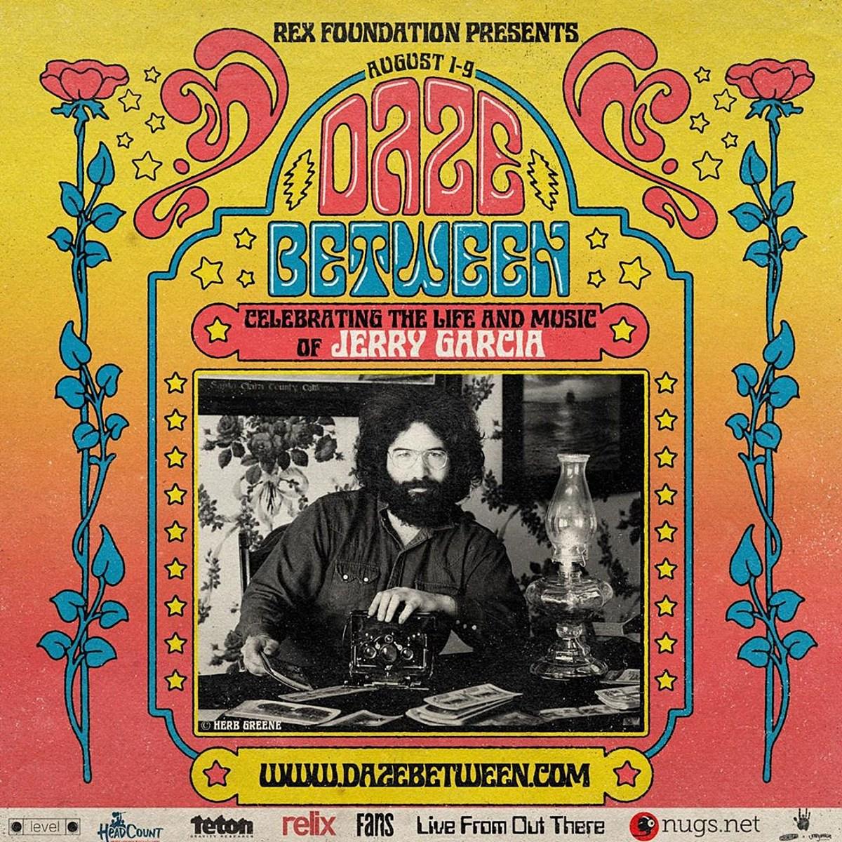 Nine-day Jerry Garcia celebration livestream happening in August w/ live performances, storytelling, more