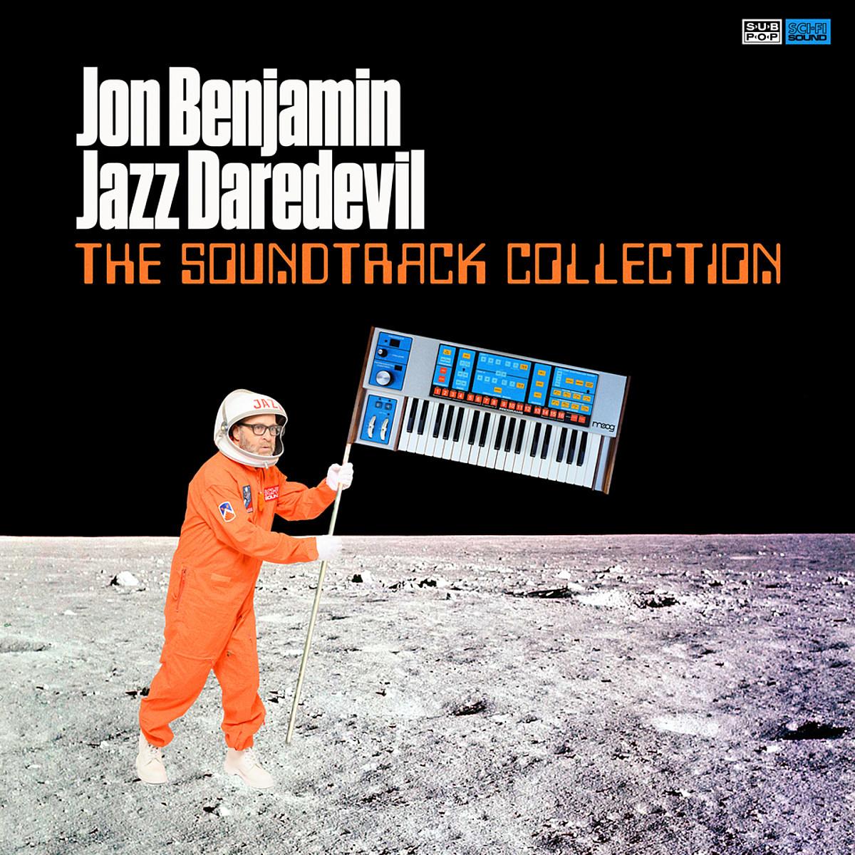 comedian Jon Benjamin covers songs from Top Gun, Beverly Hills Cop & more on new LP